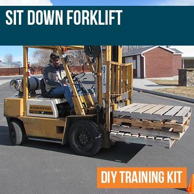 Sit Down Forklift DIY Training Kit