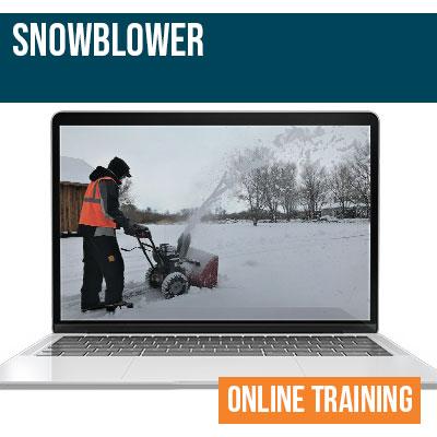 Snow Blower Online Safety Training