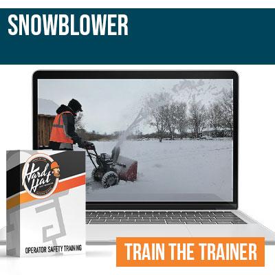 Snowblower Train the Trainer