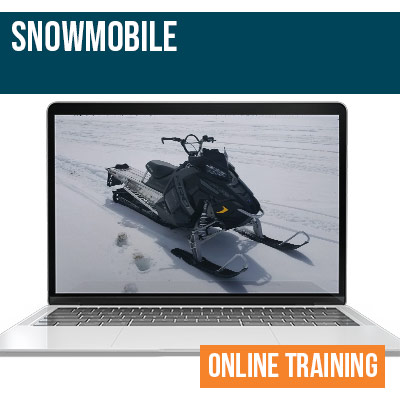 Snow Mobile Online Safety Training