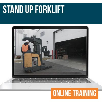 Stand Up Forklift Online Safety Training