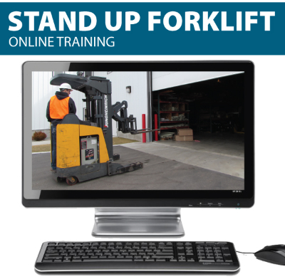 stand up forklift online training