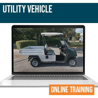 Utility Vehicle Online Safety Training