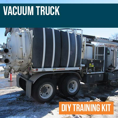 Vacuum Truck DIY Training Kit