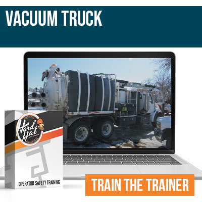 Vacuum Truck Train the Trainer
