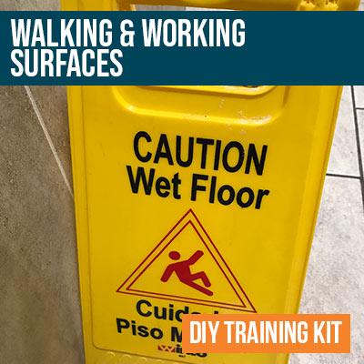 Walking and Working Surfaces DIY Training Kit
