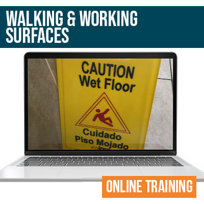Walking and Working Surfaces Online Safety Training
