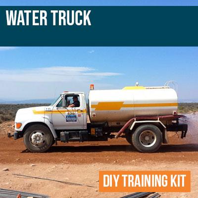 Water Truck DIY Training Kit