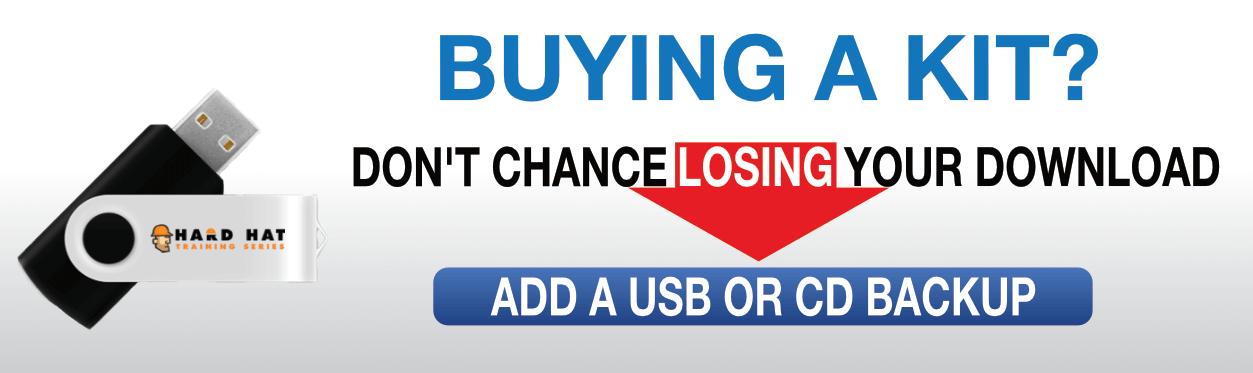 add a backup USB/CD