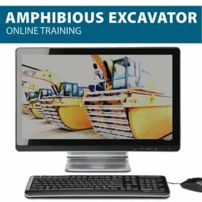 amphibious excavator online canada
