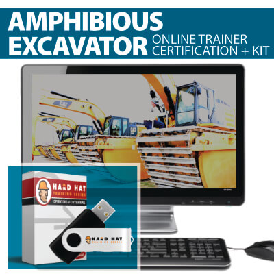 Amphibious Excavator Train the Trainer