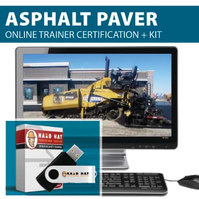 Asphalt Paver Train the Trainer Certification