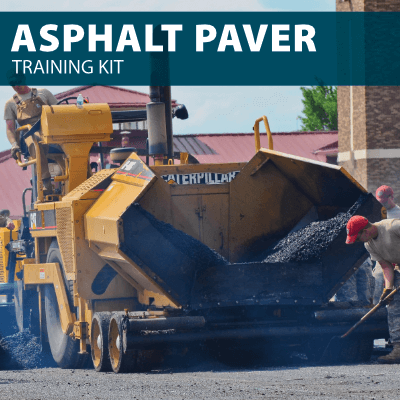 Asphalt Paver Training Kit