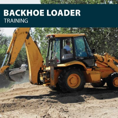 backhoe training certification
