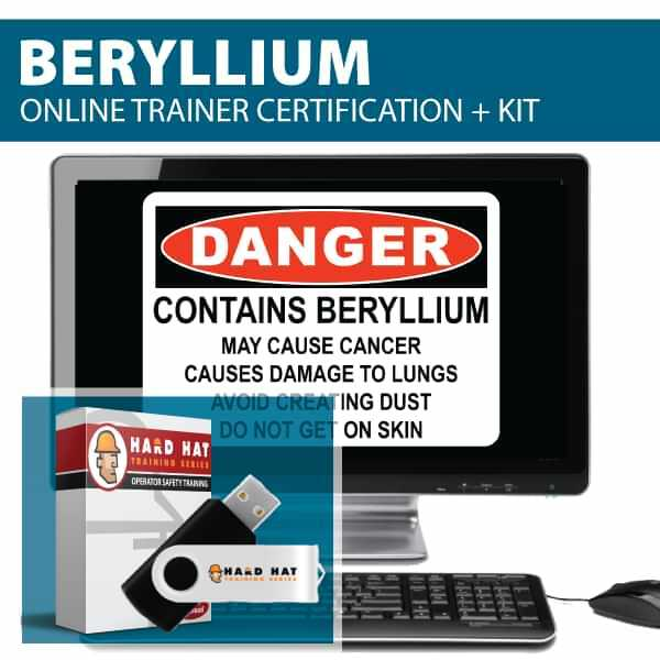 Beryllium Trainer Certification Canada Compliant