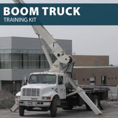 boom truck training kit
