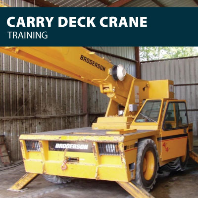 Carry Deck training certification