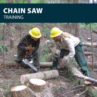 Chainsaw safety training certification