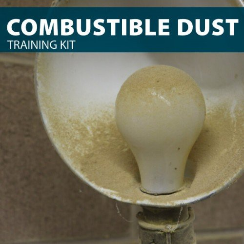 Combustible Dust Training Kit for Canada from Hard Hat Training