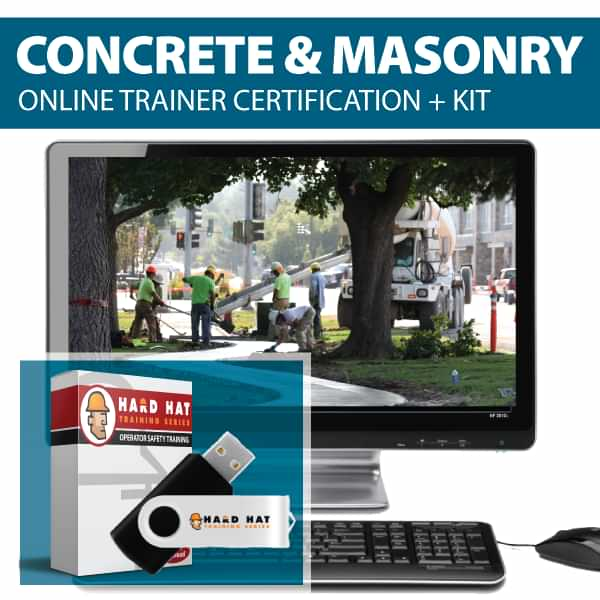 Concrete and Masonry Train the Trainer Canada Compliant