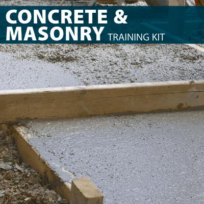Concrete & Masonry Training Kit