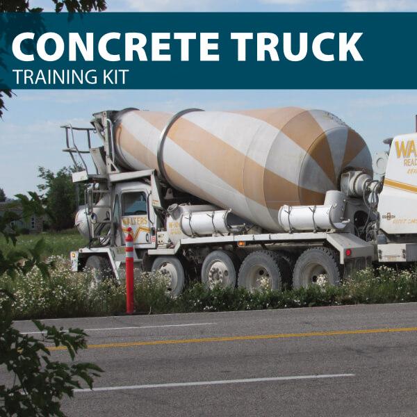 concrete truck training kit