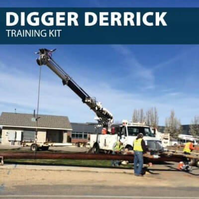 digger derrick training kit