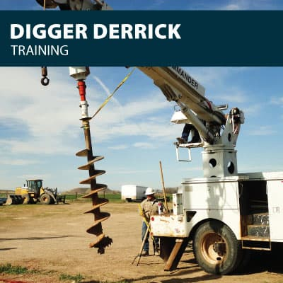Digger Derrick training certification