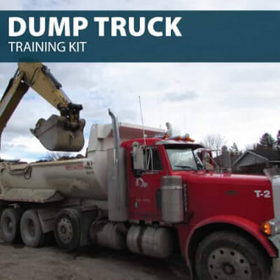 dump truck training kit