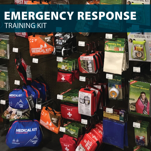 emergency response training kit