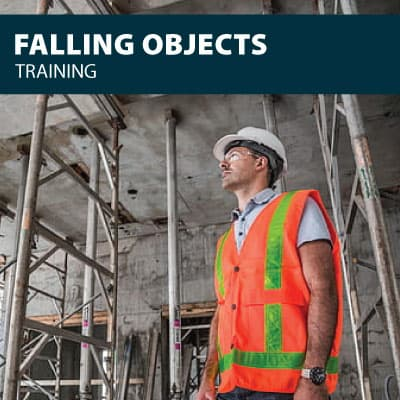 Falling objects training certification