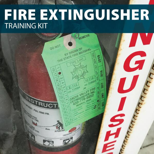 fire extinguisher training kit