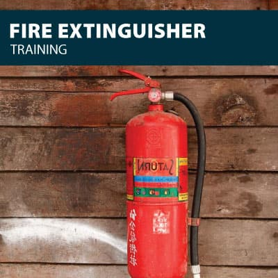 fire extinguisher training certification