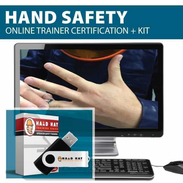 Hand Safety Train the Trainer Certification Canada Compliant