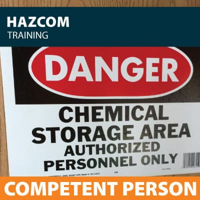 hazcom competent person training certification