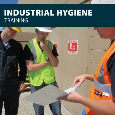 Industrial Hygiene safety training certification