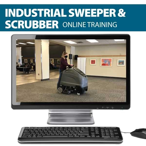 Industrial Sweeper and scrubber online training