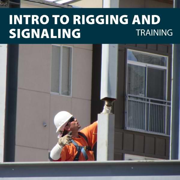 canada intro to rigger signaler training certification