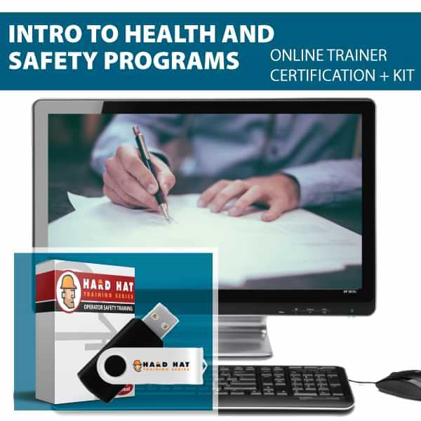 Intro to Safety and Health Programs Train the Trainer Certification