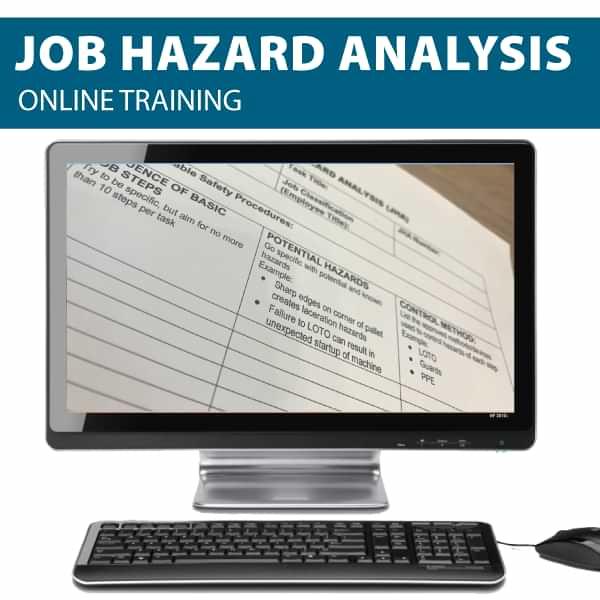 Job Hazard Analysis Online Training Canada Compliant
