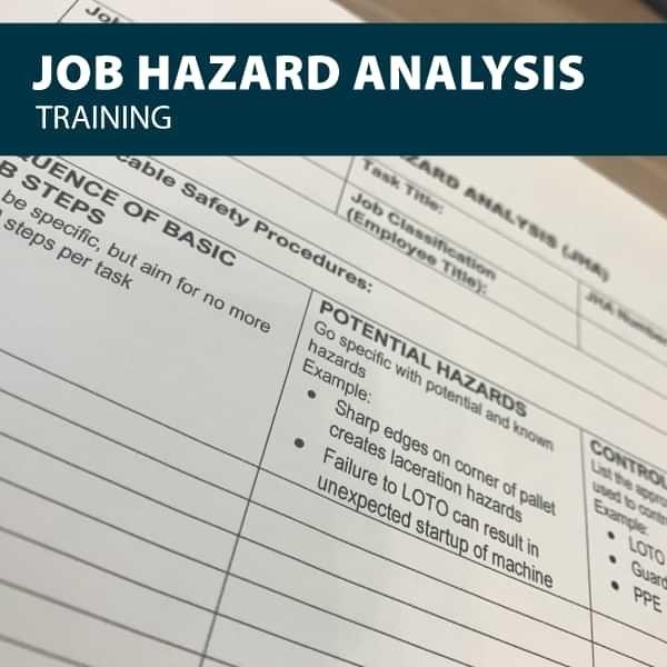 canada job hazard analysis training certification