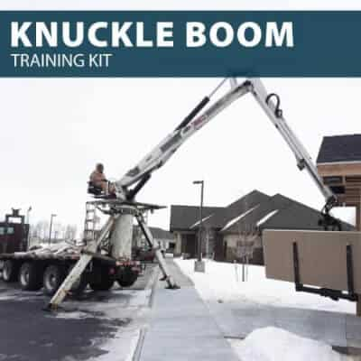 knuckle boom training kit