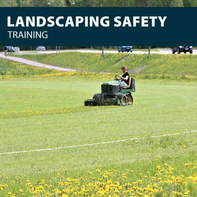 canada landscaping safety training certification