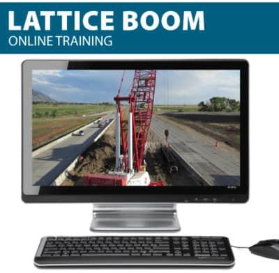 Lattice boom online training