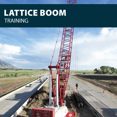 Lattice Boom training certification