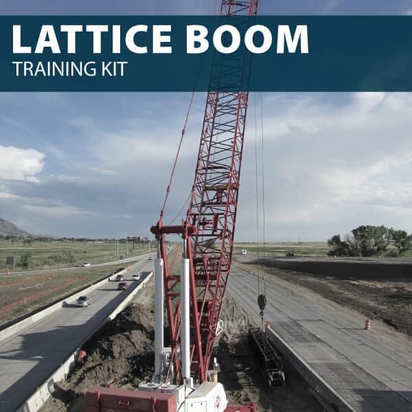 Lattice Boom Crane Training Kit