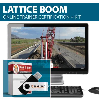 Lattice Boom Crane Train the Trainer Program