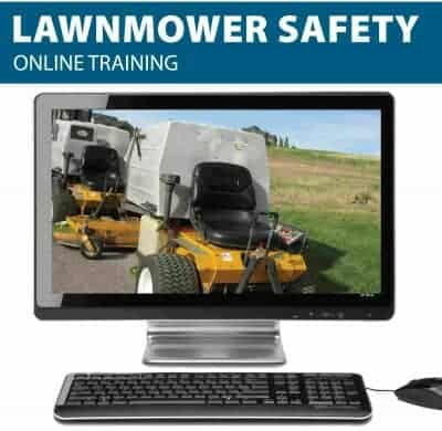Lawnmower Online Safety Training