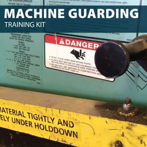 machine guarding training kit