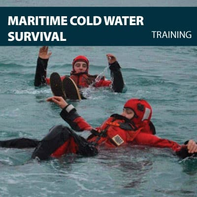 maritime cold water survival training certification